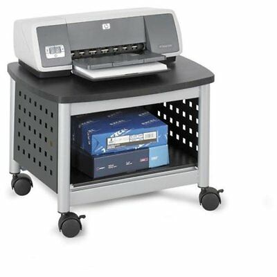 "Safco Scoot Printer Stand - 14.5"" Height X 20.3"" Width X 16.5"" Depth - (1855bl)"