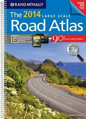 The Rand McNally Large Scale Road Atlas (Rand McNally Large S... by Rand McNally