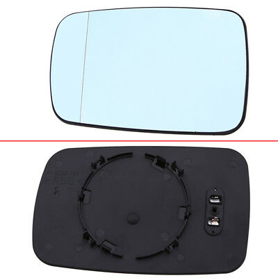 1Pcs Driver Side Door Wing Mirror Glass Heated For BMW E46 318 320 325 330 E65