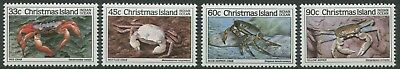 Crabs Part Iii 1985 - Mnh Set Of Four (G26-Rr)