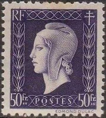 """FRANCE STAMP TIMBRE YVERT N° 701 """" MARIANNE DULAC 50F """" NEUF xx LUXE"""