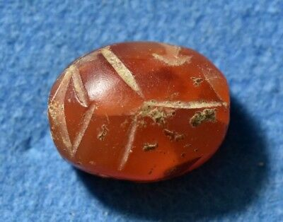 Canaanite / Egypt, (Late Bronze) New Kingdom 15-12 Century BC. CARNELIAN Scarab.