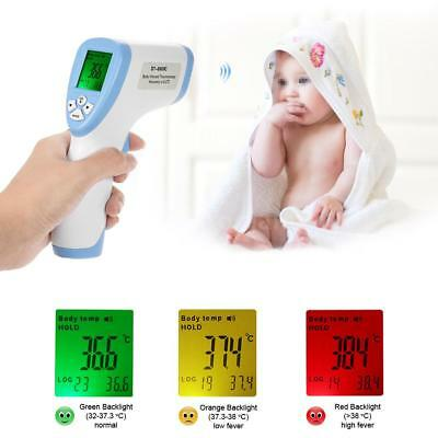 LCD Digital Non-contact IR Infrared Thermometer Forehead Body Temperature M3B9