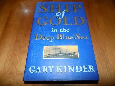 SHIP OF GOLD IN DEEP BLUE SEA S.S. Central America Coins Coin FIRST EDITION Book