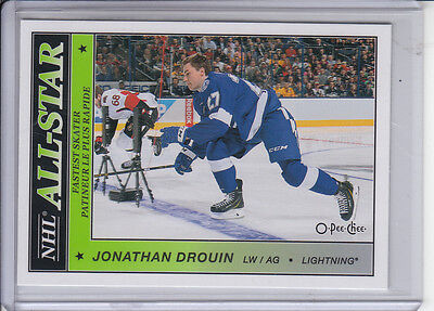 15/16 OPC Tampa Bay Lightning Jonathan Drouin NHL All-Star Glossy SP card #AS-46