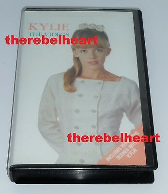 KYLIE MINOGUE The Videos 1988 AUSTRALIAN VHS Locomotion I SHOULD BE SO LUCKY