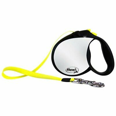 Flexi North America Llc RFLCT L Large Black & Neon Yellow Reflective Retractable