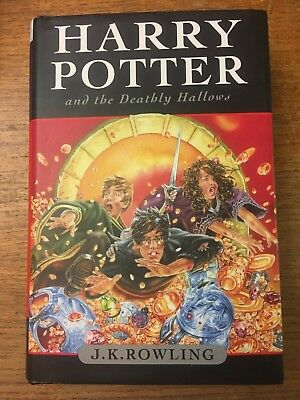 Harry Potter and the Deathly Hallows J.K. Rowling HC/DJ 2007