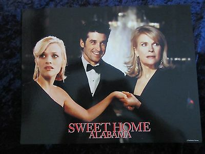SWEET HOME ALABAMA lobby card # 9 -  REESE WITHERSPOON, PATRICK DEMPSEY