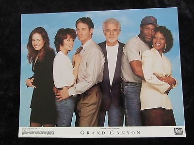 GRAND CANYON lobby card # 1 -  STEVE MARTIN, KEVIN KLINE, MARY LOUISE PARKER