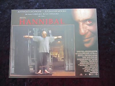 HANNIBAL lobby card # 1 ANTHONY HOPKINS, JULIANNE MOORE, SILENCE OF THE LAMBS