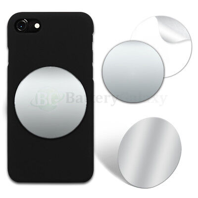 "100X Selfie Small Mirror Circle 2.35"" Anti-Scratch for iPhone Android Samsung"