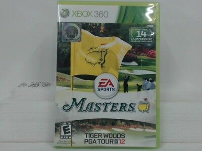 Tiger Woods Pga Tour 12: The Masters Xbox 360 W/ Original Box Good