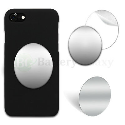 "50X Selfie Small Mirror Oval 2.35"" Anti-Scratch for Apple iPhone/Android Phone"