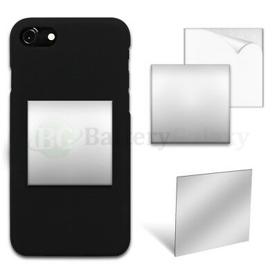 "50X Selfie Small Mirror Square 2"" Anti-Scratch for iPhone /Android Cell Phone"