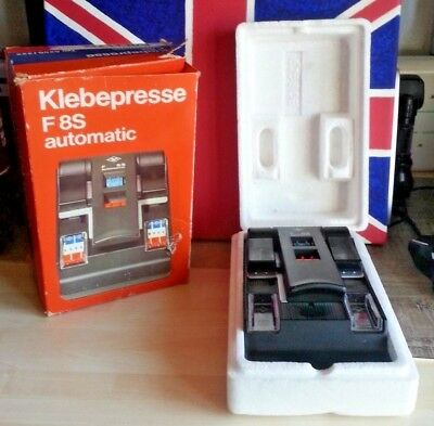 AGFA Klebepresse F8S Automatic, Super 8 Film Splicer (In Original Box)