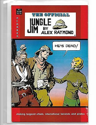 The Official Jungle Jim #1 By Alex Raymond Pioneer Press
