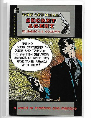 The Official Secret Agent #1 Pioneer Press