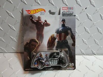 Hot Wheels Pop Culture Marvel Studios Avengers 3D-Livery Tricycle w/Real Riders