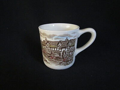 Johnson Brothers - OLDE ENGLISH COUNTRYSIDE BROWN MULTI - Coffee Mug - NEW
