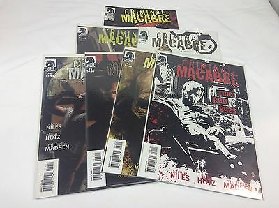 Criminal Macabre Two Red Eyes #1-4 (Dark Horse/Niles/1014381) complete lot of 7