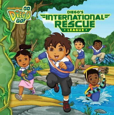 Diego's International Rescue League (Go Diego Go (8x8)) Book The Cheap Fast Free