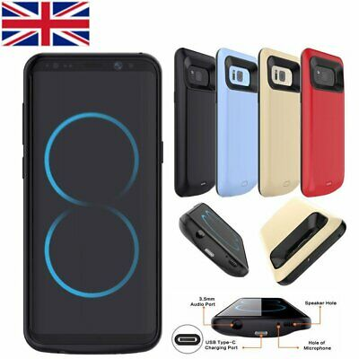 8000mAh External Battery Case Power Bank Charger For Samsung S7 S8+S9 S9+ Note 8