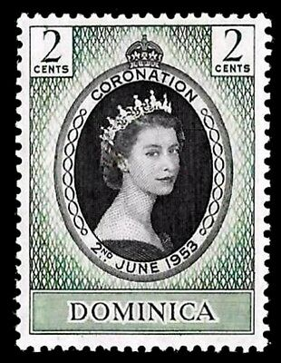 Dominica - 1953 - Qe Ii - Coronation Issue - Mint - Mnh - Single!