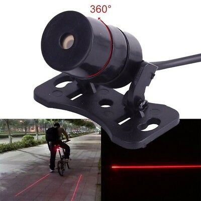 Auto Car Automobile Motorcycle Laser Fog Light Anti Collision Tail Light Red