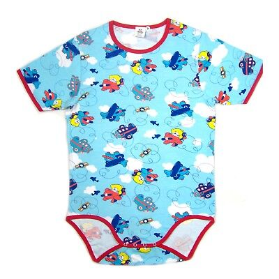 Adult Airplanes and Teddy's baby blue color bodysuit romper autistic