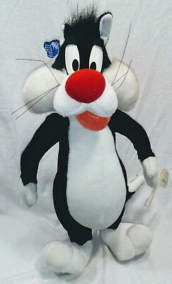 Vintage 1994 Applause Sylvester The Cat Looney Tunes Warner Bros Plush w/tags