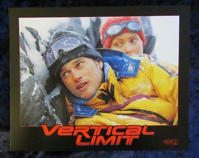 VERTICAL LIMIT lobby cards CHRIS O'DONNELL mini set of 8