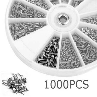 1000Pcs Stainless Steel Bolts With Electronics Hex Nuts Screw Assortment Kit