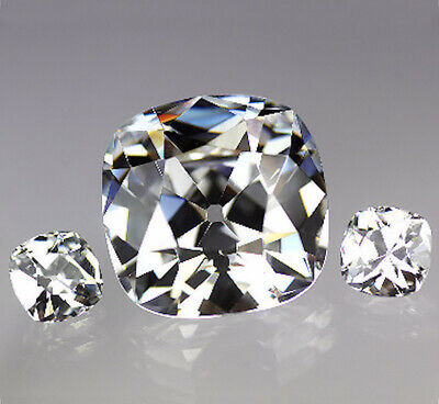 Old Mine Cut Loose Cubic Zirconia Gemstone CZ - Size and Colour Choice