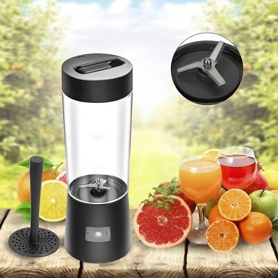 500ML Portable Rechargeable USB Blender,Mini Cup Fruit Juicer Smoothie Maker