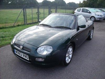 MG MGF SPORTS - FULL SERVICE HISTORY - Green Manual Petrol, 2000