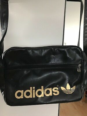 b331c78d1e ADIDAS ADICOLOR AIRLINER Bag Schwarz Gold - EUR 10