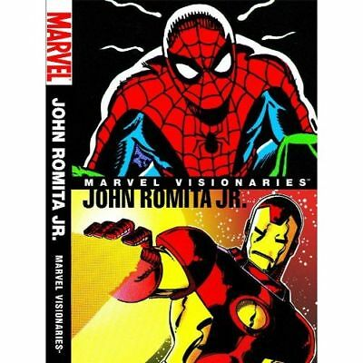 Marvel Visionaries: John Romita Jr. HC - marvel