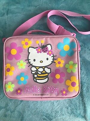 HELLO KITTY PINK cool bag with bumble bee design - £6.00  002c7aa33a011