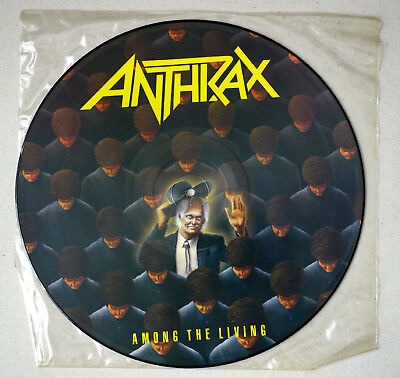 ANTHRAX - Among the Living - Picture Disc ‎– Island Records PILPS 9865 - UK 1987