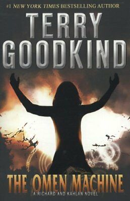 The Omen Machine (A Richard and Kahlan novel) by Goodkind, Terry Book The Cheap