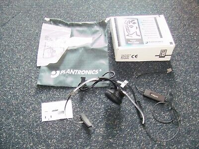 Summer Sale New Plantronics BUDGET Headset H51A (i12) SUPRA for most RJ9 Phones