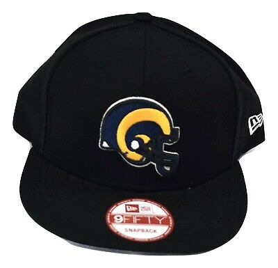 premium selection aadee 56a93 New Era 9Fifty NFL Mens Los Angeles Rams Speckle Grade Snapback Hat Cap NWT