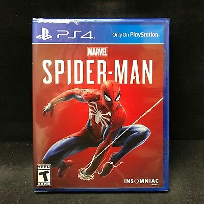 Marvel's Spider-Man (Sony PlayStation 4 PS4) BRAND NEW / Region Free