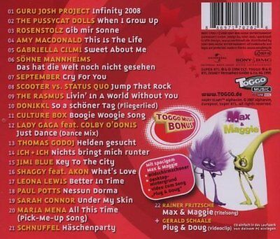 CD/ Toggo Music 20 - Voll Cool, 22 Top Hits !! NEU&OVP !!