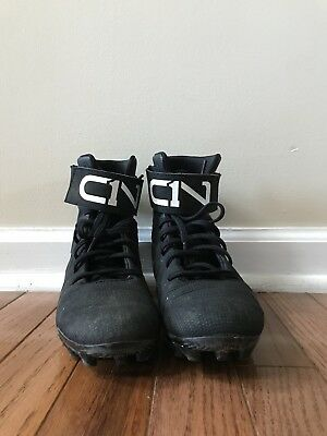 on feet at fashion style on sale cc01f67c8e under armour ua c1n mc jr. football cleat kids youth ...
