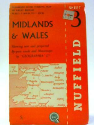 Geographia Numbered Road Touring Map No. 3, (Geographia - 1111) (ID:04629)