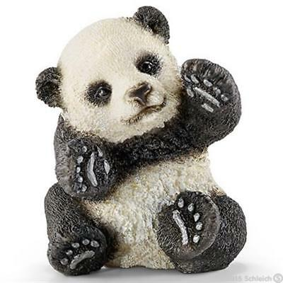 Schleich North America 216383 Panda Cub Playing Toy Figure - White & Black