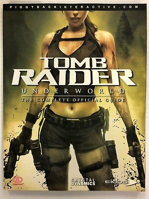 Tomb Raider Underworld The Complete Official Game Strategy Guide Piggyback 2008