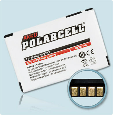 PolarCell Battery for Motorola Razr V3xx V6 maxx MotoRAZR BZ60 CFNN7009 950mAh